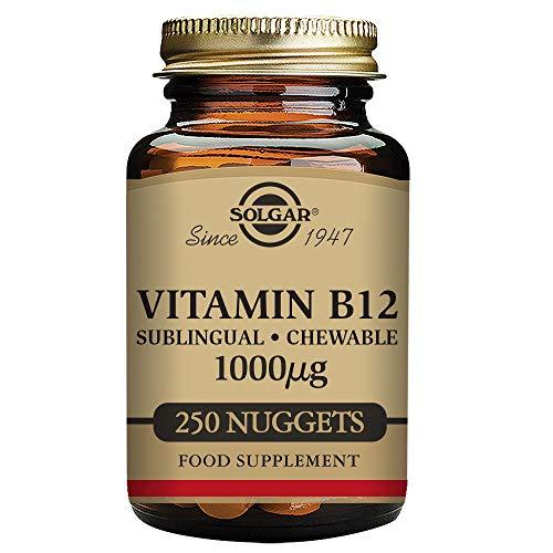 Solgar Vitamina B12 1000 µg - 250 Tabletas