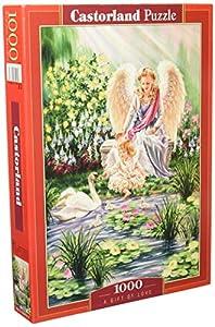 Castorland C-103874 - Sierra de Cortar (1000 Piezas), diseño de Amor