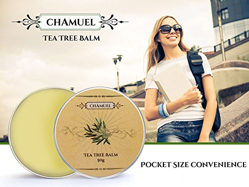 TEA TREE OIL BALM von Chamuel -100 % natürlich . Stop- Reizung , Juckreiz und Beruhigen Sie Ihre Haut ! Extrem vielseitig ! Alle Vorteile...
