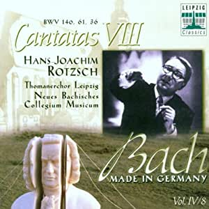 Bach - Made in Germany Vol. IV/8 (Kantaten)