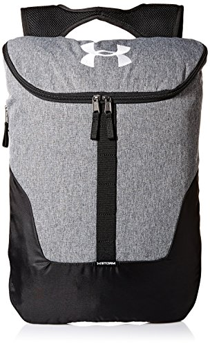 Under Armour Expandable Sackpack Bolsa de Equipaje, Unisex Adulto, Gris, Talla Única