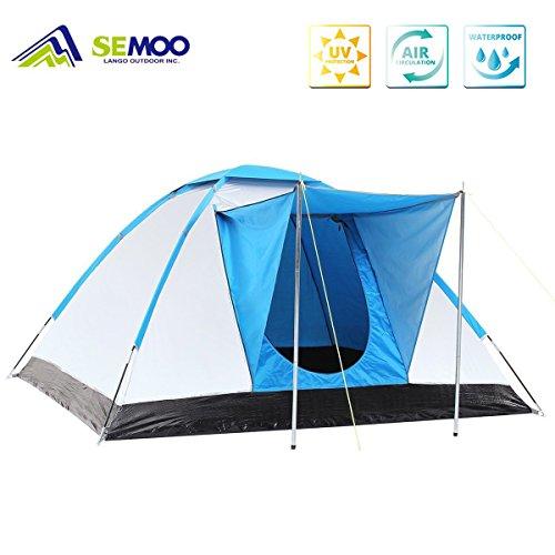 Semoo-Tienda-de-campaa-familiar-con-proteccin-UV-en-forma-de-igl-para-acampar-de-fibra-plateada-para-3-personas