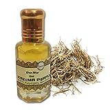KAZIMA Khus Attar Perfume For Unisex - Pure Natural Undiluted (Non-Alcoholic) (10ml)