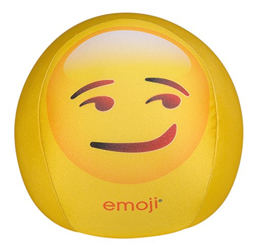 Happy-People-58342-Emoji-Knautschball-19-cm-gelb