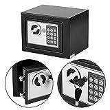 Elektronischer Mini-Geldkassette, 4,6 l, mit Schlüsseln für Zuhause,...