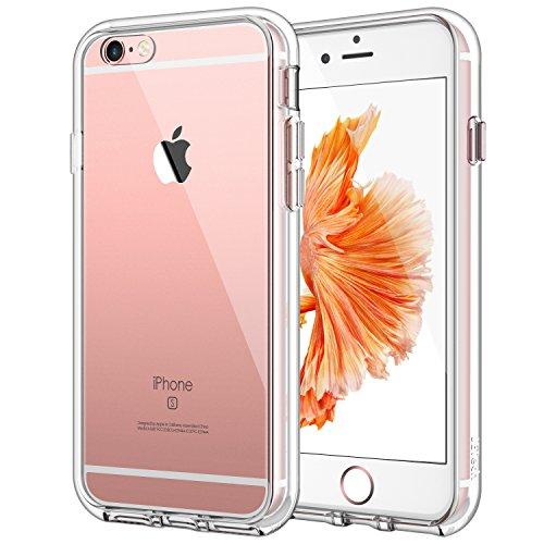 JETech Hülle für iPhone 6s Plus iPhone 6 Plus, Schutzhülle mit Anti-kratzt Transparente & Rückseite, HD Klar