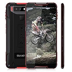 "CUBOT Quest Outdoor Handy 4G, 4GB + 64GB Android 9.0 Smartphone IP68 Wasserdicht Stoßfest, 5,5""Zoll HD 4000mAh Akku Dual Nano SIM Ohne Vertrag Fingerabdruck Robustes Smartphone"