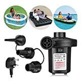 Wesho Electric Pump for Inflatables Air Pump Paddling Pool Pump 220-240V/150W Electric Pump