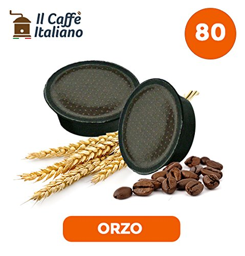 80 Capsule Orzo - Compatibili con Macchine da caffè Lavazza a Modo Mio – Il Caffè Italiano