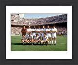Framed Print of Spanish Soccer - La Liga - Real Madrid v Valencia - Bernabeu