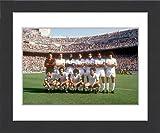 Framed Print of Spanish Soccer - La Liga - Real Madrid v Valencia - Bernabeu