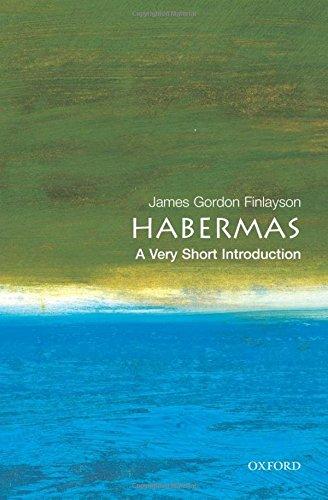 Habermas: A Very Short Introduction (Very Short Introductions) por James Gordon Finlayson