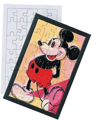 Puzzle Blanc 30 Pieces A Decorer - Lot de 10 [Jouet]