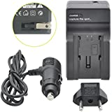 Super Charger: Travel Battery Charger For Sony DCR-SX44 HandyCam - Lithium Ion Worldwide AC/DC Travel Replacement Battery Charger For Sony NP-FV50, Sony NP-FV70, Sony NP-FV100 Battery Pack