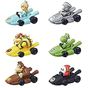 Hasbro Nintendo Board Game Monopoly Gamer Mario Kart Edition Figure Pack Display (24) *