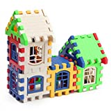 #4: Kids House Building Blocks Educational Learning Construction Bricks Puzzle Toy Set