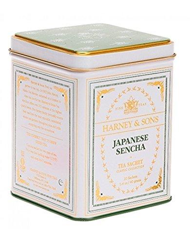 Harney & Sons - Té Verde Lata 20 Pirámides De Seda Classic Japanese Sencha
