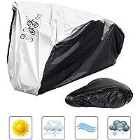 feierna Fahrradabdeckung, Staubschutz Anti-UV Wasserdichte Fahrradschutzhülle (L)