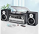 Stereoanlage mit CD-Brenner CD-Player Encoding Platte Radio Kassette USB SD