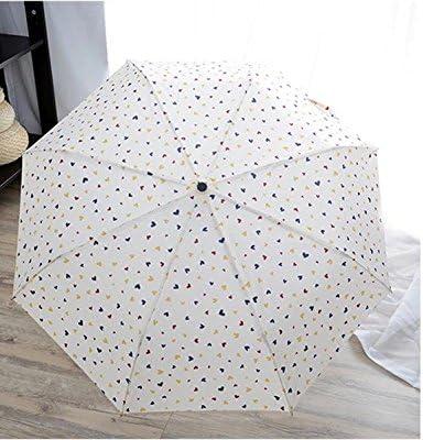 SEABECCA Soleggiato ombrello automatico del Tre pioggia Anti-UV , , , bianca , 55cm8k | Bella apparenza  | attività di esportazione in linea  d0d2fd