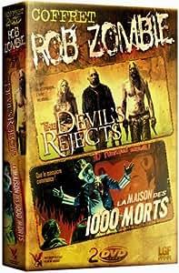 Coffret Rob Zombie 3 DVD : The devil's rejects / La Maison des 1000 morts