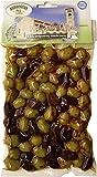 griechische würzige gemischte Oliven mit Stein vakuumverpackt 250 g