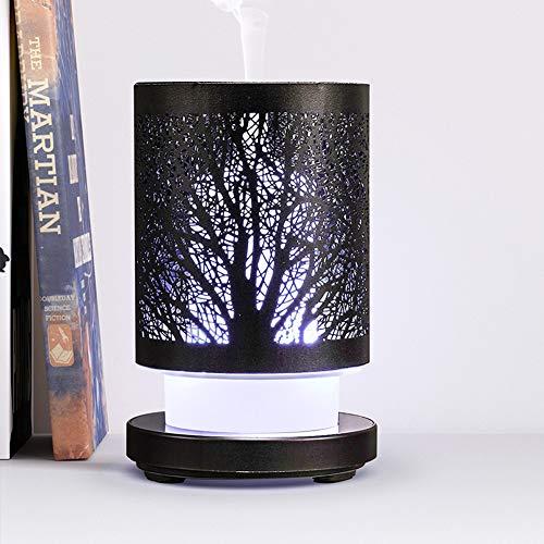 Aroma Difusor Humidificador 7-Color Led Seguro Y Elegante