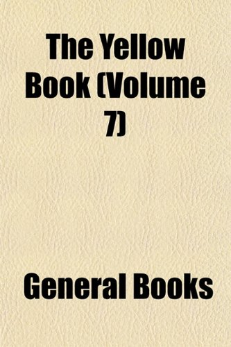 The Yellow Book (Volume 7)