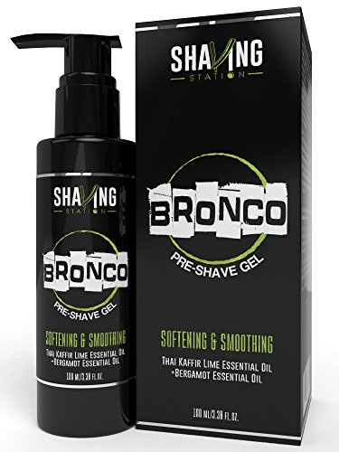 Shaving Station Pre Shave Gel - 100 ml (Thai Kaffir Lime and Bergamot)