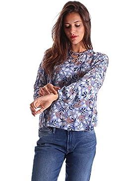 Pepe jeans PL302204 Blusa Donna Blu S