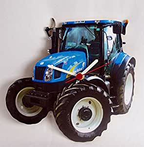 New Holland Tractor Clock - WT36 by L R