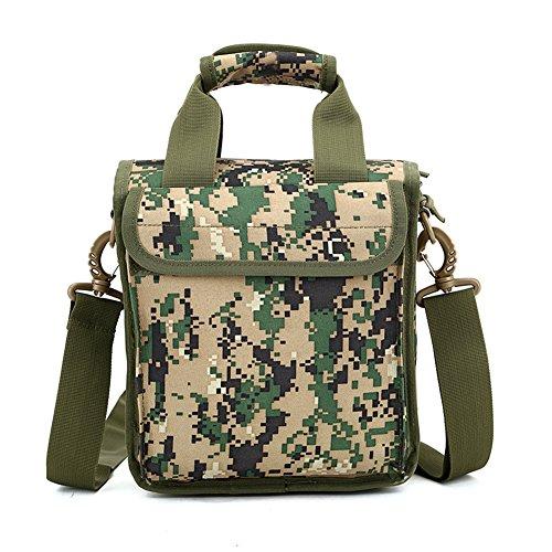 Faysting EU borsa a spalla borsa a tracolla per uomo studenti camuffamento colorato vari per scegliere buon regalo C