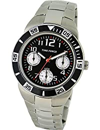 TIME FORCE Reloj De Pulsera Tf-4120B01M Cadete Acero Multifuncion 50M PLATEADO