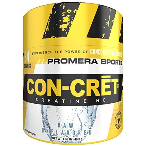 Promera Health Con-Cret 64serv 64 servings Kreatin Muskelkraft (Raw (Unflavoured)) -