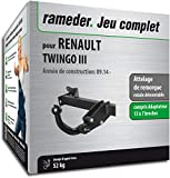Attelage Amovible pour RENAULT TWINGO III + faisceau broches (138280-13195-1-FR)