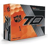 Wilson Staff True Distance Soft Golfbälle, 1 Dutzend, 12 Bälle, Herren