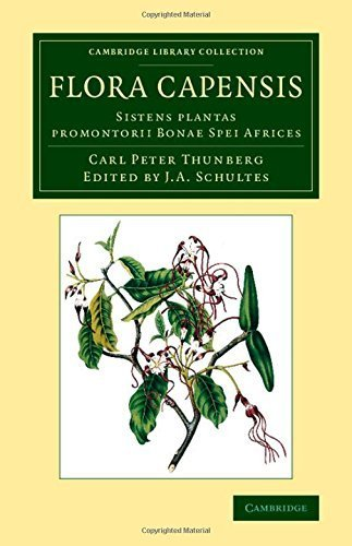 Flora Capensis: Sistens plantas promontorii Bonae Spei Africes (Cambridge Library Collection - Botany and Horticulture) 1st edition by Thunberg, Carl Peter (2014) Paperback par Carl Peter Thunberg