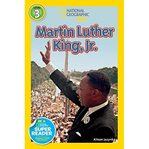 National Geographic Readers: Martin Luther King, Jr. (Readers Bios) by Kitson Jazynka(2012-12-26)