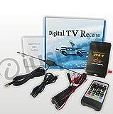 Ricevitore TV digitale DVB-T decoder TV digitale auto MPEG4 H.264 1 antenna