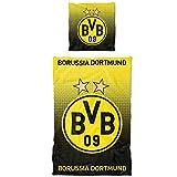 Borussia Dortmund BVB Bettwäsche Punkteverlauf 135x200 cm