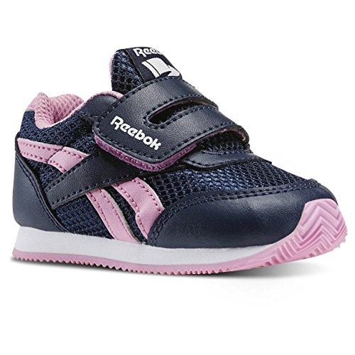 Azul rosa Rosa Cljog de Branco Reebok Real Bebê Icono colegiado Marinha Sneaker Unisex Blanco 2 Kc 0qqHUWE