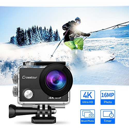 Zoom IMG-1 crosstour 4k action cam wi