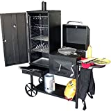 Syntrox Germany Smoker Bovini 2 Barbecue BBQ Grill Räucherofen Holzkohlegrill