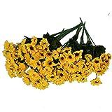 Beschan Small Sun Flower Artificial Flowers Floral Home Decor by Beschan