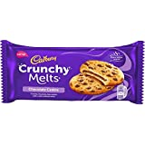 Cadbury Crunchy Melts Chocolate Chip Cookies with soft melting centre Biscuit, 156g