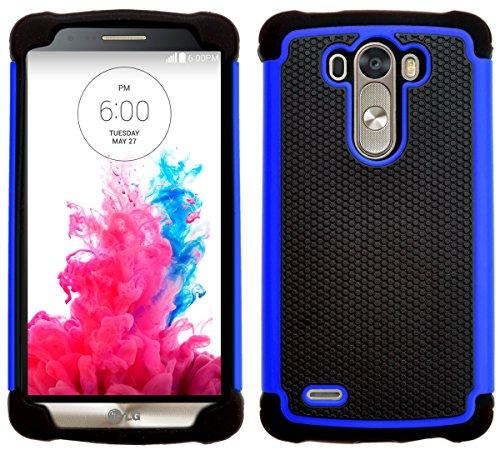 G-Shield Hülle für LG G3 Stoßfest Schutzhülle - Blau