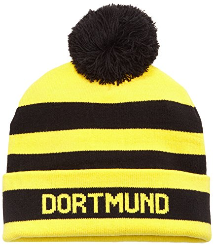 PUMA Mütze BVB Bubble Hat Black/Cyber Yellow, One size