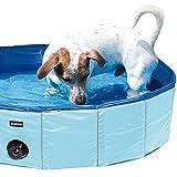 Doggy-Pool Planschbecken für Hunde Swimmig Pool der Hundepool mit 80 cm Durchmesser in Blau