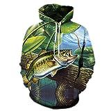 Hip&Hoeny 3D Hoodie Männer Hoody Lustige Fische Sweatshirts Anime Trainingsanzüge Print Mantel Pullover Jacke Streatwear AFKH1222 4XL