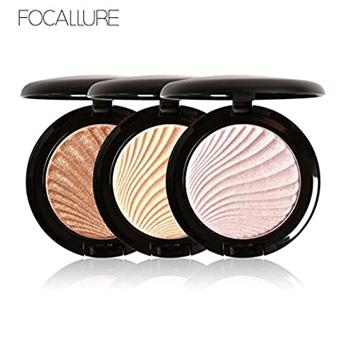 MORCHAN 1pc High Light Powder Makeup Foundation Crème Concealer Mention Powder High Light Powder Shimmer (C)